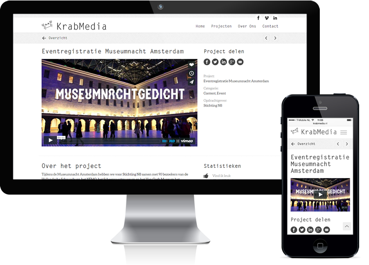 KrabMedia Webdesign & -development